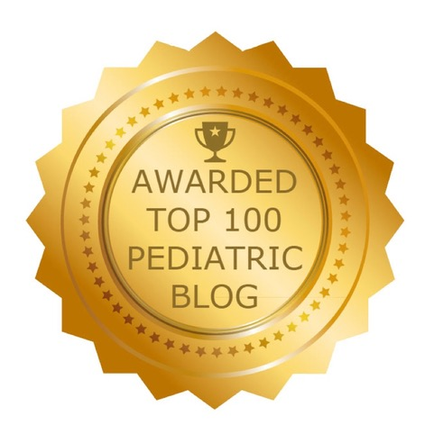 Awarded Top 100 Pediatric Blog